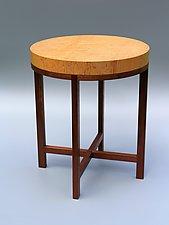 Genoa by Tracy Fiegl (Wood Side Table)
