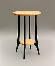 Ibis by Tracy Fiegl (Wood Side Table)