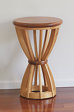 Sheaf by Tracy Fiegl (Wood Side Table)
