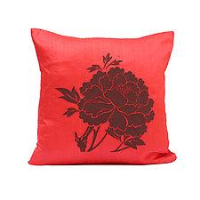 Peony by Helene  Ige (Silk Pillow)