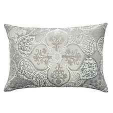 Persian Velvet Lumbar Pillow by Kevin O'Brien (Silk Velvet Pillow)