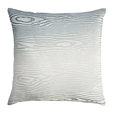 Large Woodgrain Velvet Pillow by Kevin O'Brien (Silk Velvet Pillow)