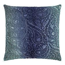 Henna Velvet Pillow by Kevin O'Brien (Silk Velvet Pillow)