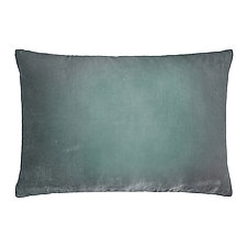 Ombre Velvet Lumbar Pillow by Kevin O'Brien (Silk Velvet Pillow)