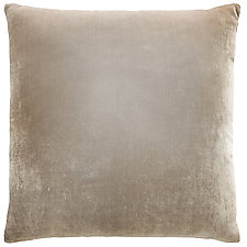 Ombre Velvet Euro Pillow by Kevin O'Brien (Silk Velvet Pillow)