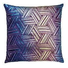 Entwined Velvet Pillow by Kevin O'Brien (Silk Velvet Pillow)
