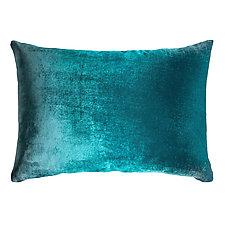 Ombre Velvet Lumbar Pillow by Kevin O'Brien (Silk Velvet Pillow)