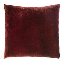 Ombre Velvet Pillow by Kevin O'Brien (Silk Velvet Pillow)
