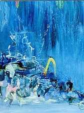 Deluge by Theresa Vandenberg Donche (Acrylic Painting)