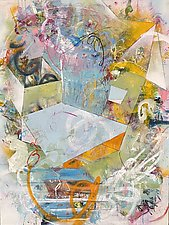Reminiscence & Responses by Theresa Vandenberg Donche (Mixed-Media Painting)