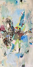 Riding It Out by Theresa Vandenberg Donche (Mixed-Media Painting)