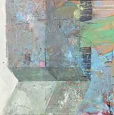 Rooms-Sliding by Theresa Vandenberg Donche (Mixed-Media Painting)