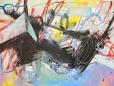 Boom! by Theresa Vandenberg Donche (Acrylic Painting)