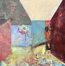 Rooms-Obstacles by Theresa Vandenberg Donche (Acrylic Painting)