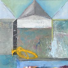 Rooms-Looming by Theresa Vandenberg Donche (Mixed-Media Painting)