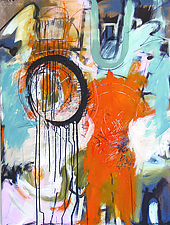 Speak of the Devil by Theresa Vandenberg Donche (Acrylic Painting)