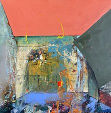 Rooms-Shelter by Theresa Vandenberg Donche (Mixed-Media Painting)