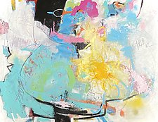 Sunny Disposition by Theresa Vandenberg Donche (Mixed-Media Painting)