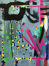 Confetti Cha Cha by Amantha Tsaros (Acrylic Painting)