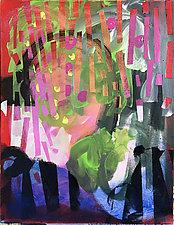 Bugle Beads by Amantha Tsaros (Acrylic Painting)
