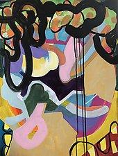 Meet You Under the Bridge by Amantha Tsaros (Acrylic Painting)