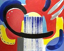 Rockets Red Glare by Amantha Tsaros (Acrylic Painting)