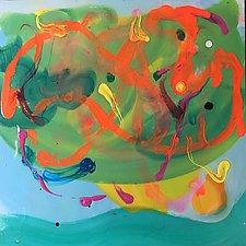 Seaweed Sirens by Amantha Tsaros (Acrylic Painting)