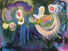New Garden by Amantha Tsaros (Acrylic Painting)