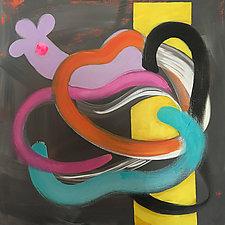 Yoo Hoo by Amantha Tsaros (Acrylic Painting)