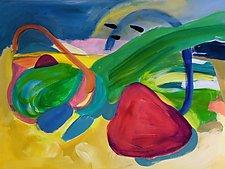 Sidestepping Seaweed by Amantha Tsaros (Acrylic Painting)