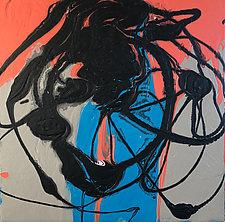 Midnight Map by Amantha Tsaros (Acrylic Painting)