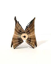 Interference Bracelet by Karole Mazeika (Leather Bracelet)
