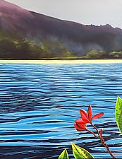 Mysterious Island by Hunter Jay (Acrylic Painting)