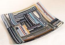 Organic Tray by Renato Foti (Art Glass Tray)