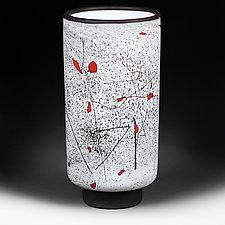 Zimska Jabuka (WInter Apples) Prototype Vase by Eric Bladholm (Art Glass Vase)