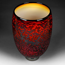 Fall Flare II by Eric Bladholm (Art Glass Bowl)