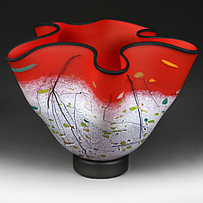 Tantalizing Tulip by Eric Bladholm (Art Glass Vessel)
