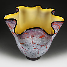 Aztec Autumn Studio Sample by Eric Bladholm (Art Glass Bowl)