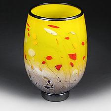 Sunbeam Staccato Studio Sample by Eric Bladholm (Art Glass Vase)