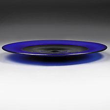 Astro Azure by Eric Bladholm (Art Glass Platter)