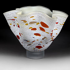 Hazy Harvest Bowl by Eric Bladholm (Art Glass Bowl)