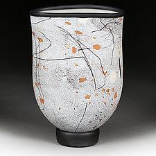 Desert Dance Studio Sample by Eric Bladholm (Art Glass Vase)