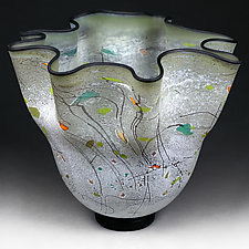 Sage Silhouette by Eric Bladholm (Art Glass Vessel)