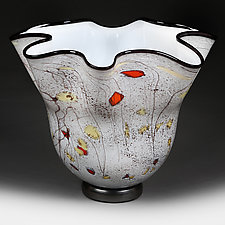 Summer Storm Studio Sample by Eric Bladholm (Art Glass Vase)