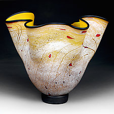 Staccato Storm by Eric Bladholm (Art Glass Bowl)