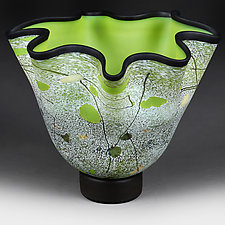 Apple Abstract II by Eric Bladholm (Art Glass Vessel)