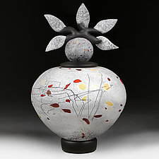 Mozayika Modernizmu (Mosaic Modernism)) by Eric Bladholm (Art Glass Vessel)