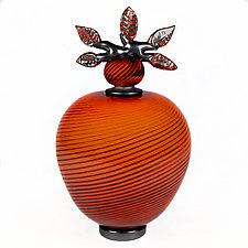 Prestigious Persian by Eric Bladholm (Art Glass Vessel)