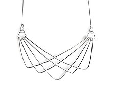 Sway Necklace by Jera Lodge (Silver Necklace)