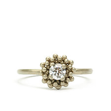 Lux Diamond Ring by Marian Maurer (Gold & Stone Ring)